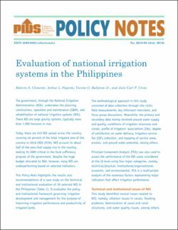 PIDS: Policy Notes