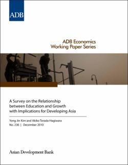 relationship between education and economic development pdf