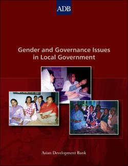 Gender and Governance Issues in Local Government Regional