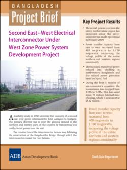 Bangladesh: Second East-West Electrical Interconnector Under
