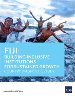 Fiji: Building Inclusive Institutions for Sustained Growth