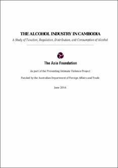 The Alcohol industry in Cambodia